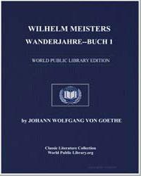 Wilhelm Meisters Wanderjahre : Buch 1 by Von Goethe, Johann Wolfgang