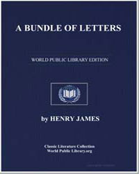 A Bundle of Letters by James, Henry