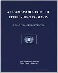 A Framework for the Epublishing Ecology ... by