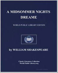 A Midsummer Nights Dream by Shakespeare, William