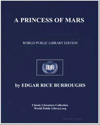 A Princess of Mars by Burroughs, Edgar Rice