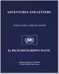 Adventures and Letters by Davis, Richard Harding