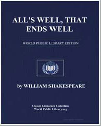 All's Well, That Ends Well by Shakespeare, William