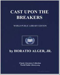 Cast Upon the Breakers by Alger, Horatio, Jr.