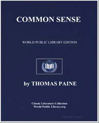 Common Sense by Paine, Thomas