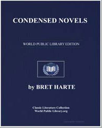 Condensed Novels by Harte, Brett
