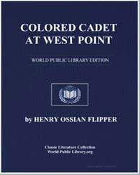 Colored Cadet at West Point by Flipper, Henry Ossian