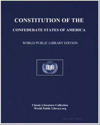 Constitution of the Confederate States o... by