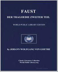 Faust : Der Tragoedie Zweiter Teil by Von Goethe, Johann Wolfgang