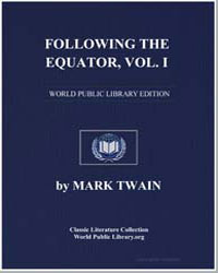 Following the Equator Vol. 1 by