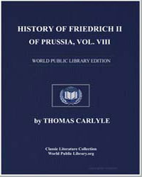 History of Friedrich II of Prussia Vol. ... by Carlyle, Thomas