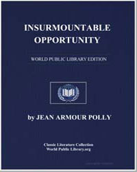 Insurmountable Opportunity by Polly, Jean Armour