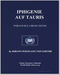 Iphigenie auf Tauris by Von Goethe, Johann Wolfgang