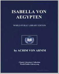 Isabella Von Aegypten by Von Arnim, Achim