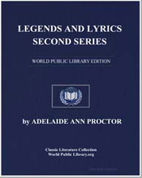 Legends and Lyrics Second Series by Proctor, Adelaide Ann