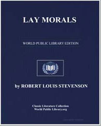 Lay Morals by Stevenson, Robert Louis