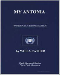 My Antonia by Cather, Willa Sibert