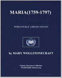 Maria, Or the Wrongs of Woman by Shelley, Mary Wollstonecraft