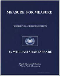 Measure, For Measure by Shakespeare, William