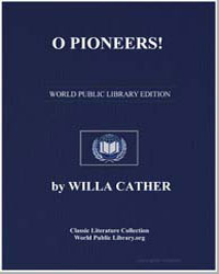 O Pioneers by Cather, Willa Sibert