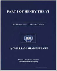 Henry the Vi, Part I by Shakespeare, William