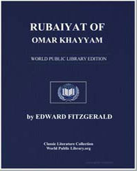 Rubaiyat of Omar Khayyam by Fitzgerald, Edward