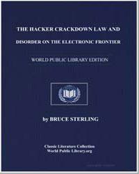 The Hacker Crackdown by Sterling, Bruce