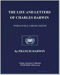 The Life and Letters of Charles Darwin by Darwin, Charles