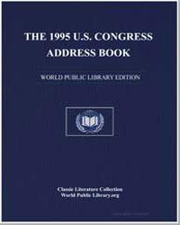 The 1995 U.S. Congress Address Book by