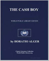 The Cash Boy by Alger, Horatio, Jr.