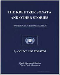 The Kreutzer Sonata and Other Stories by Tolstoy, Leo