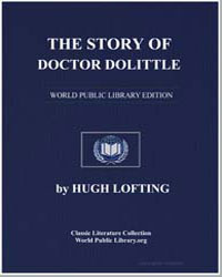 The Story of Doctor Dolittle by Lofting, Hugh