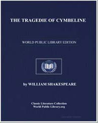 The Tragedie of Cymbeline by Shakespeare, William