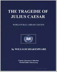 The Tragedie of Julius Caesar by Shakespeare, William