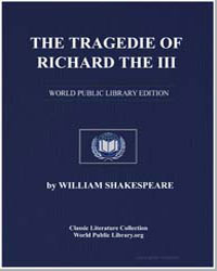The Tragedie of Richard the Iii by Shakespeare, William