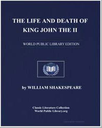 The Life and Death of King John the Ii by Shakespeare, William