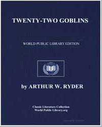 Twenty-Two Goblins by Ryder, Arthur W.