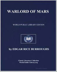 Warlord of Mars by Burroughs, Edgar Rice