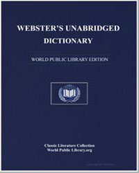 Webster's Unabridged Dictionary by