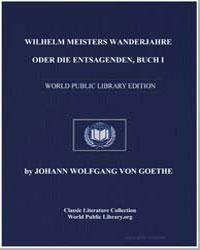 Wilhelm Meisters Lehrjahre Buch Viii by Von Goethe, Johann Wolfgang
