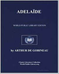 Adelaïde by De Gobineau, Arthur