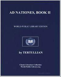 Ad Nationes, Book Ii by Tertullian