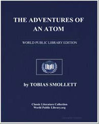The Adventures of an Atom by Smollett, Tobias