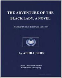The Adventure of the Black Lady by Behn, Aphra