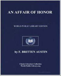 An Affair of Honor by Austin, Frederick Britten