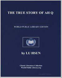 The True Story of Ah Q by Hsun, Lu