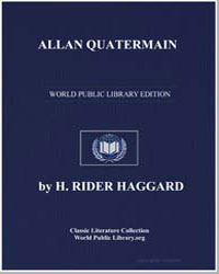 Allan Quatermain by Haggard, Henry Rider