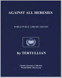Against All Heresies by Tertullian