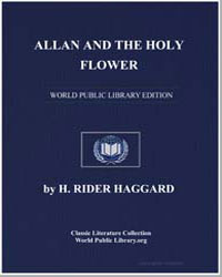 Allan and the Holy Flower by Haggard, Henry Rider