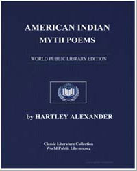 American Indian Myth Poems by Alexander, Hartley